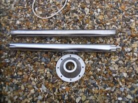 boat parts desmo legs and 1 support