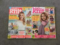 Let's knit magazine