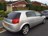 Vauxhall Signum, 2004, Silver, 1.9cdti Diesel, AUTOMATIC, Elite TOP OF THE RANGE, 97k Low Miles.