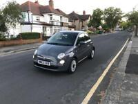 Fiat 500 1.2 Petrol 2014 with Reverse Parking Sensors, 1 Year Mot, Very Low Mileage