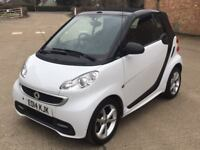 Smart Fortwo 1.0 MHD 21 Cabriolet Softtouch (2014) 27,000 miles-Petrol-Auto-FMDSH-Warranty