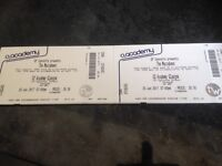 2 X Maccabees tickets for Glasgow