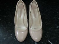Dorothy Perkins Wedge Taupe Shoes Size 6