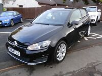 Volkswagen Golf 2.0 TDI BlueMotion Tech GT Hatch 3dr (start/stop) 69900 miles warranted/1 owner/ FSH