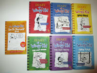 7 Diary of a wimpy kid books