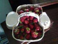 """Strawberry Dish"""