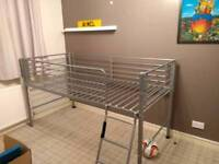 Single Metal cabin bed frame - mid height **SOLD**