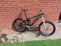 Trek remedy 9.9 carbon full suspension mountain bike price drop £1000