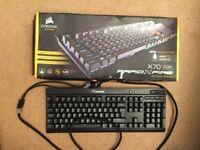 Corsair Gaming Keyboard K70 RGB Rapid Fire