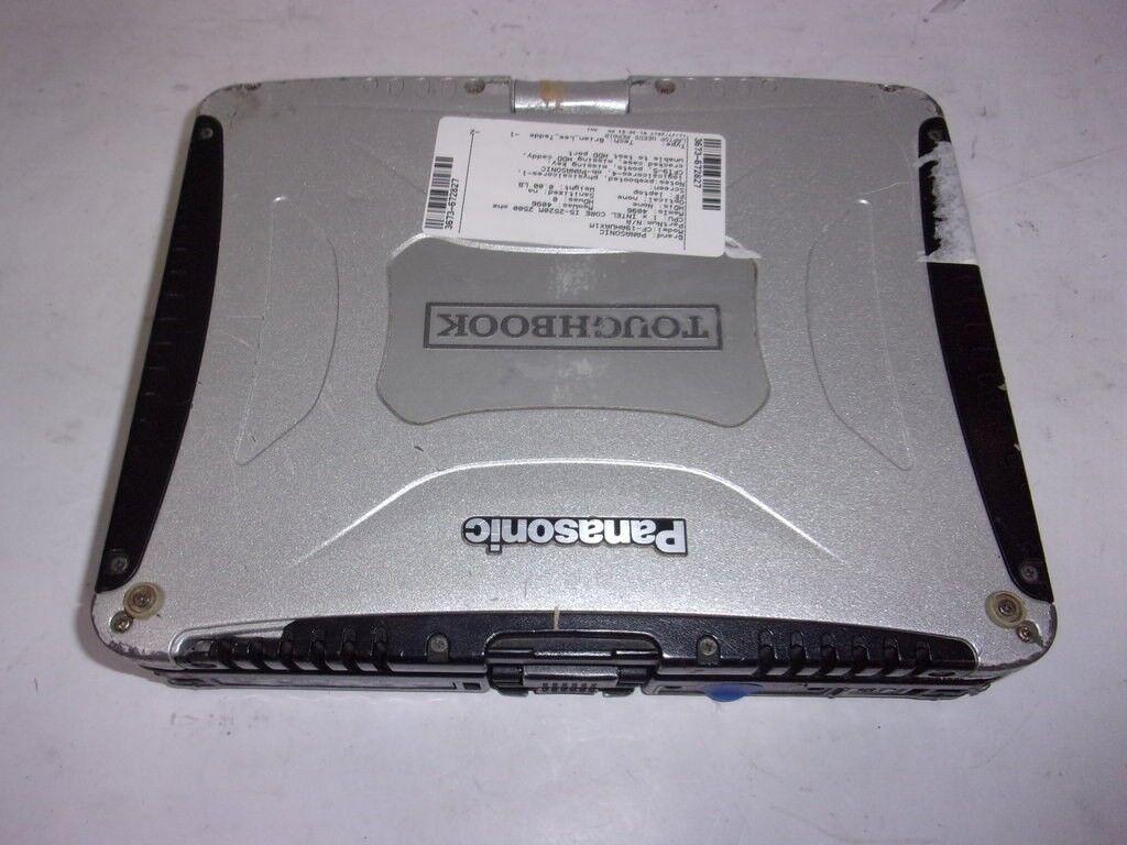 Panasonic Toughbook CF-19KHRAX2M Laptop CPU U9300 1.2GHz 2.48GB SEE NOTES