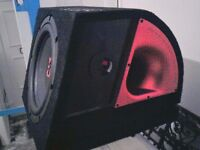 ** 12 INCH JBL SUBWOOFER IN PORTED BOX **