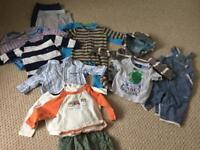 Baby boy 3-6 mth clothes bundle
