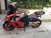 Honda cbr 600rr 2005 19k miles, moted, big spec, mint condition r6 Zx6 ninja gsxr