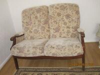 Two seater fabric sofa , £60