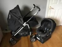 Mamas and Papas Pliko Pramette pram/buggy and car seat