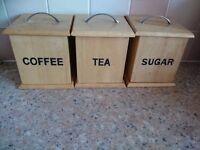 Sugar, tea and coffee holder