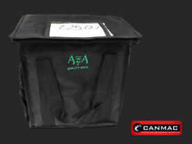 """Insulated Delivery Bag Small Black """"AZA"""" - 22X32X35CM"""