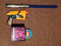 Super Fun Active Toys For Kids, Lightsaber, Nerf Gun, The Amazing Zhus, Ferbe