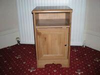 Wooden Bedside Unit