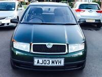 SKODA FABIA CLASSIC 1.2 MANUAL PETROL LOW INSURANCE GROUP