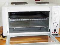 Cookworks Mini Kitchen Oven & Hobb