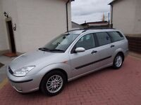 * * * NEW AD * * * BARGAIN !, Ford Focus 1.6 LX Estate, CHEAP AS CHIPS !