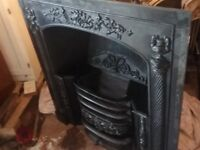 Stovax Cast Iron Fireplace Insert and Grate