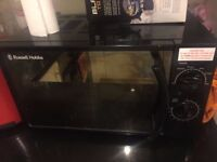 Microwave - Russell Hobbs 17lit (Black) used only for 6 months and in excellent condition