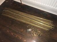 Antique Brass Stair Rod