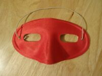 Red Eye Mask for Masquerade Balls & Fancy Dress - New