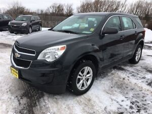 2012 Chevrolet Equinox LS, Automatic, Bluetooth, Only 66, 000km