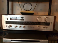 Immaculate Sony Stereo system Receiver CD Player Tape Player Turntable and Jamo Studio 160 speakerss