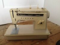 Singer 514 Sewing Machine, Manufactured approximately Early 1970's Foot Pedal may require attention