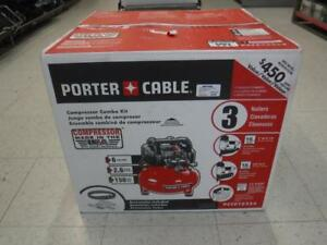 Porter Cable Air Compressor Kit (2 Nailers + Accessories) - We Buy and Sell Power Tools at Cash Pawn - 117474 - DR125405