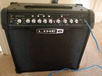 Line 6 Spider IV 30W amp and foot pedal