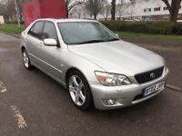 Lexus IS 200. 2.0 Sports. 4dr. 6 Gears. Not Modified.. show car. Replica