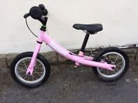 Pink Zoom balance bike