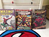 3 Spider-Man canvas