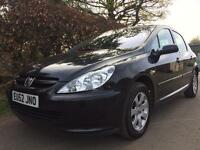 PEUGEOT 307 1.6 **LOW MILES ONLY 65K** ONE OWNER FROM NEW** FULL SERVICE HISTORY**