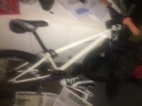 Bmx /mountain bike back Inatube needs replacing other than that works fine custom built