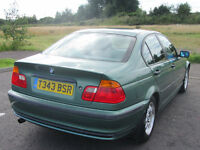 1999 BMW 318 1.9i SE GREEN SALOON E46 MANUAL 99k only