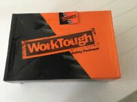 WorkTough safety work boots size 9 colour black these boots are brand new and have never been worn