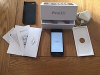 Apple iPhone 5s 16gb Space Gray Fully Boxed Excellent Condition!