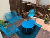 Argos/Habitat Ipanema 4 Seater Sofa Set - Blue