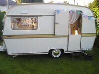 Vintage 1969 - early 70's Thomson Glendale Caravan.TOTAL REBUILD from Chassis up. Glamping in style!
