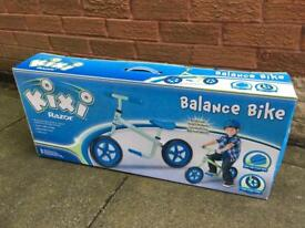 Kixi razor kids balance bike new in box