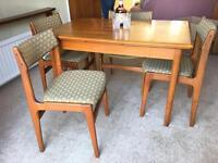 GENUINE 60s-70s TABLE+CHAIRS FREE DELIVERY LDN🇬🇧