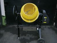 240v Cement Mixer / Concrete Mixer - Used