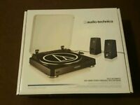 Audio technica fully automatic belt drive turntable (pls note: does not come with speakers)
