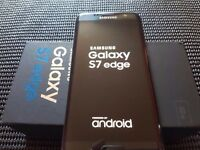Samsung Galaxy S7 edge SM-G935 Latest Model - 32GB - Black Onyx locked to the o2 network